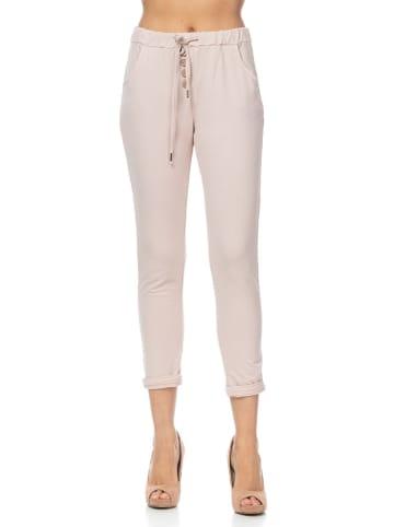 Tantra Spodnie w kolorze jasnoróżowym