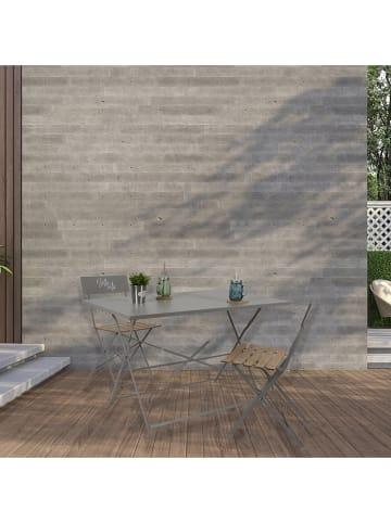 Garden Spirit Gartentisch in Taupe - (B)110 x (H)70 x (T)71 cm