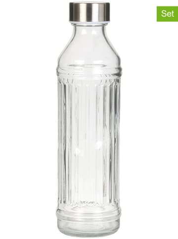 Garden Spirit 2-delige set: drinkflessen transparant - 500 ml
