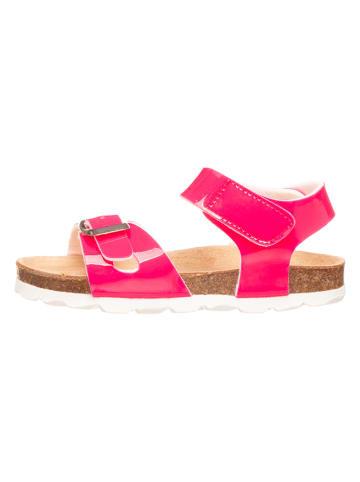 Little Sky Sandały w kolorze różowym