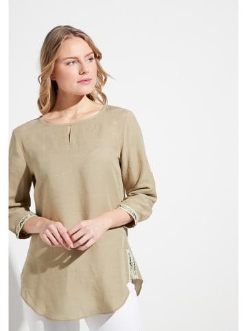 Eterna Bluzka w kolorze beżowym