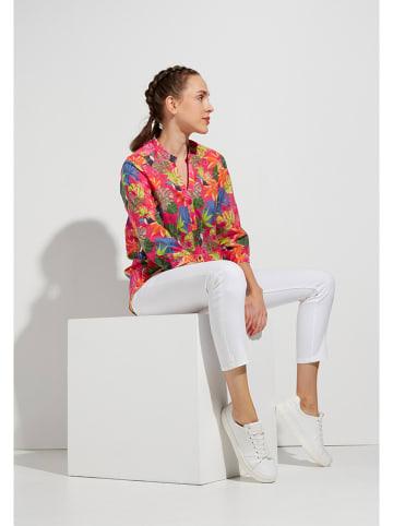 Eterna Bluzka w kolorze różowym ze wzorem
