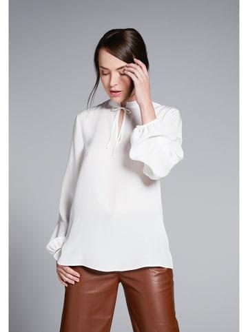 Eterna Zijden blouse wit