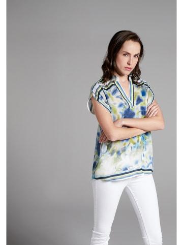 Eterna Bluzka w kolorze niebiesko-białym