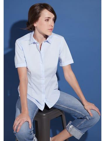 Eterna Bluzka w kolorze błękitnym