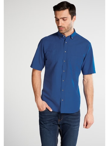 Eterna Blouse - modern fit - blauw