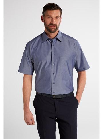 Eterna Blouse - comfort fit - blauw