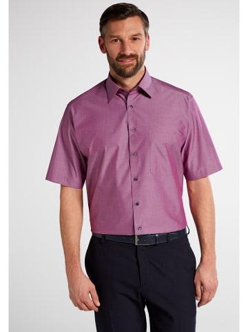 Eterna Koszula - Comfort fit - w kolorze jagodowym