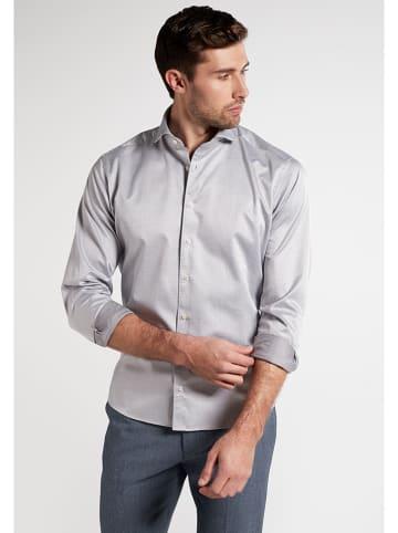 Eterna Koszula - Modern fit - w kolorze jasnoszarym