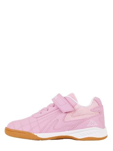 """Kappa Sneakersy """"Furbo K"""" w kolorze jasnoróżowym"""