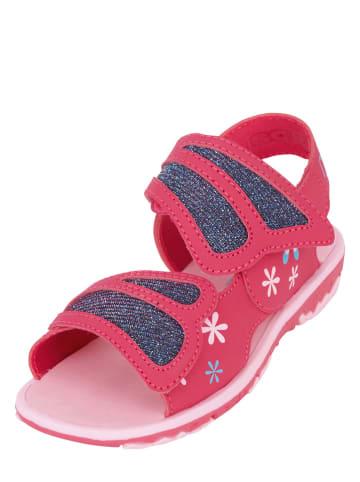 """Kappa Sandały """"Vlinder K"""" w kolorze różowym"""