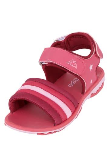 """Kappa Sandały """"Kya K"""" w kolorze różowym"""