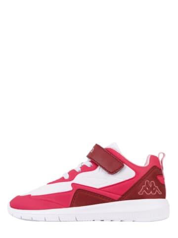 """Kappa Sneakers """"Durban PR K"""" wit/roze"""