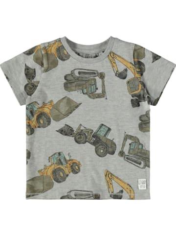"Name it Shirt ""Donninso"" grijs"