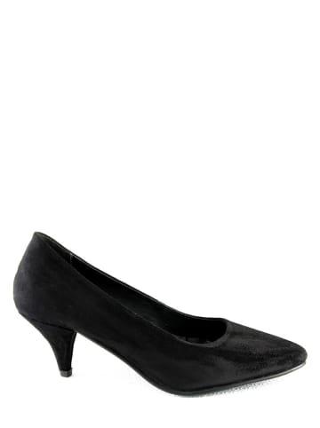 """Manoukian shoes Leren pumps """"Princesse"""" zwart"""
