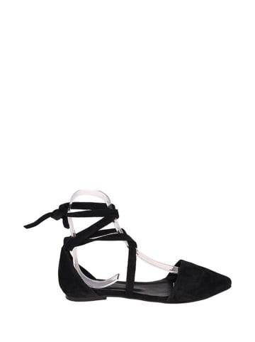 Lizza Shoes Leren ballerina's zwart