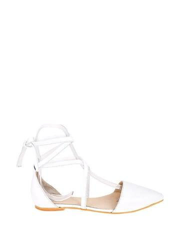 Lizza Shoes Leren ballerina's wit