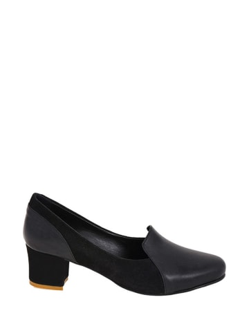 Lizza Shoes Leder-Pumps in Schwarz