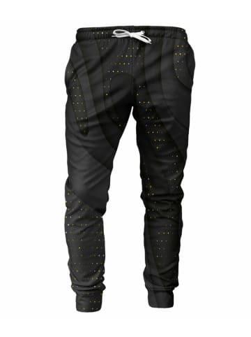 Mr.Gugu & Miss Go Spodnie w kolorze czarnym ze wzorem