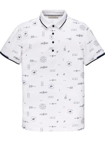 CAST IRON Poloshirt wit