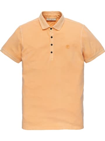 CAST IRON Poloshirt in Apricot