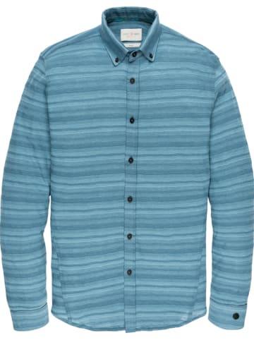 CAST IRON Koszula - Slim fit - w kolorze niebieskim