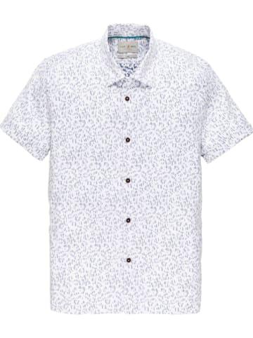 CAST IRON Koszulka w kolorze biało-szarym