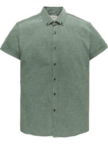 CAST IRON Blouse - slim fit - groen