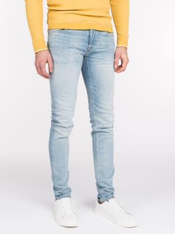 CAST IRON Dżinsy - Slim fit - w kolorze błękitnym