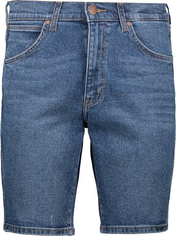 Wrangler Szorty dżinsowe - Regular fit - w kolorze niebieskim