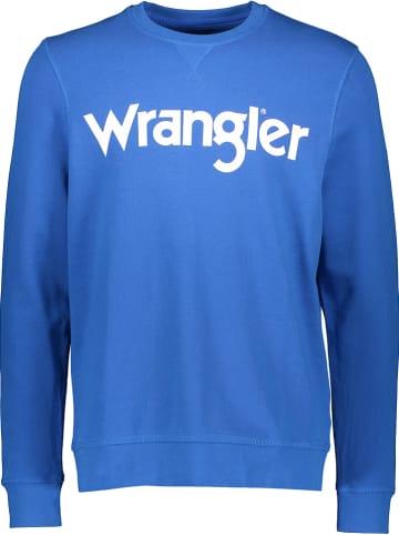 Wrangler Sweatshirt in Blau
