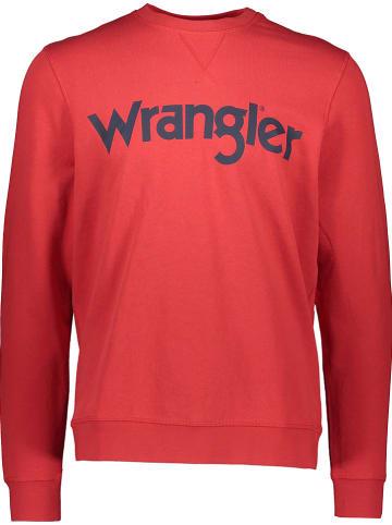 Wrangler Bluza w kolorze czerwonym