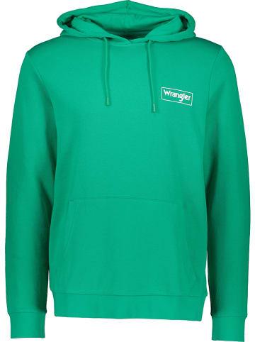 Wrangler Sweatshirt in Grün