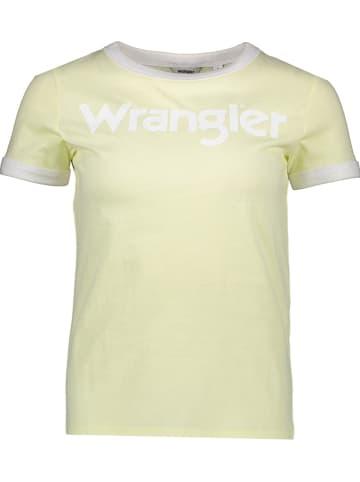 Wrangler Shirt geel