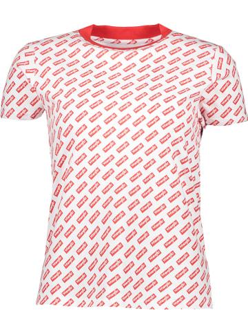 Wrangler Koszulka w kolorze czerwono-białym
