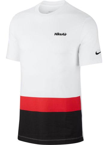 """Nike Koszulka """"NSW Air"""" w kolorze białym"""