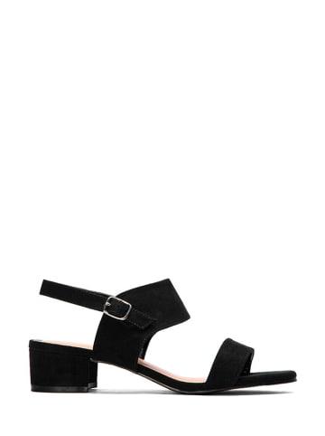 Kazar Studio Sandały w kolorze czarnym