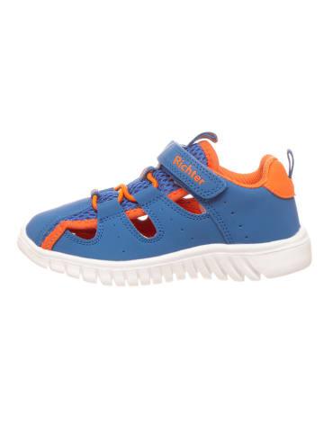 Richter Shoes Halbsandalen in Blau