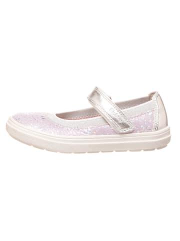Richter Shoes Leren ballerina's met bandje lila