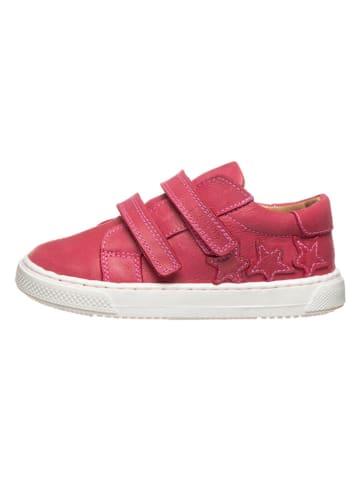 POM POM Leren sneakers roze