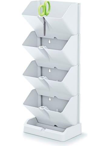 Prosperplast Blumentopf-Wand in Weiß
