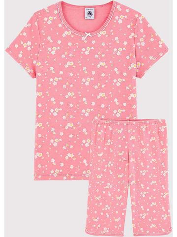 PETIT BATEAU Pyjama lichtroze