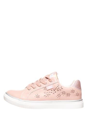 XTI Kids Sneakersy w kolorze różowym