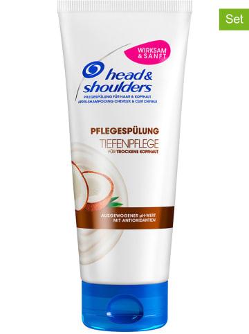 """Head & Shoulders 2er-Set: Pflegespülungen """"Tiefenpflege"""", je 220 ml"""