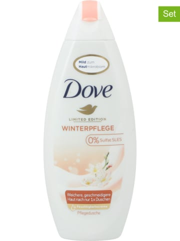 "Dove 6-delige set: douchegel ""Winterverzorging"", elk 250 ml"