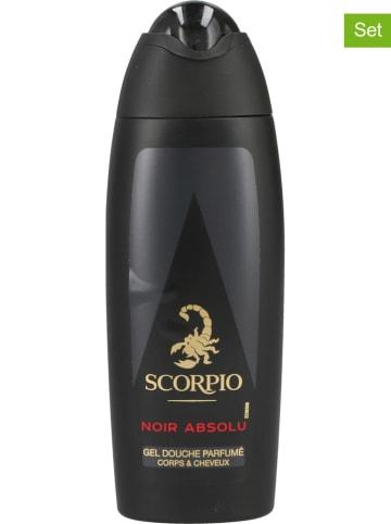 """Scorpio 6er-Set: Duschgele """"Noir Absolu"""", je 250 ml"""