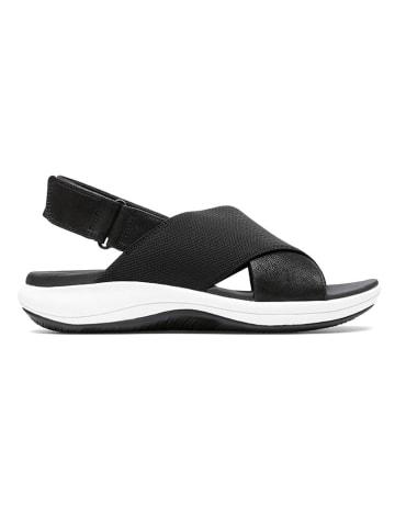 Clarks Sandały w kolorze czarnym