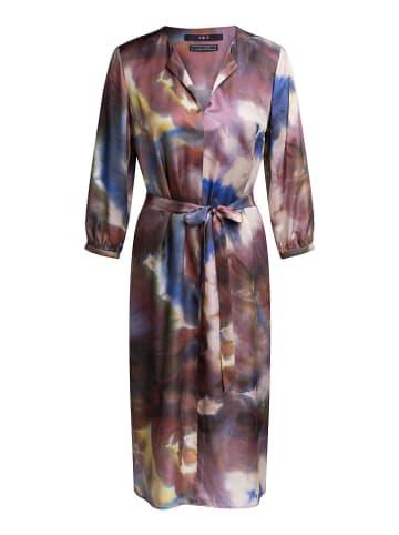 Set Sukienka ze wzorem