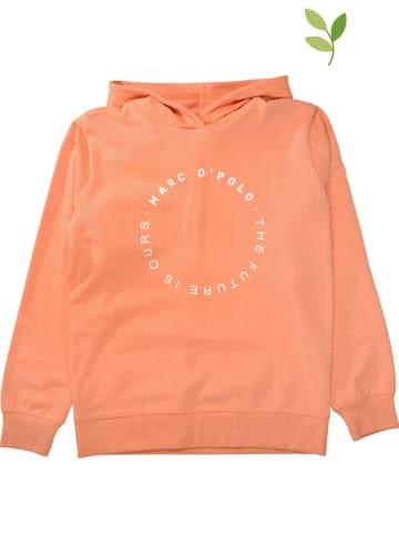 Marc O'Polo Junior Bluza w kolorze pomarańczowym