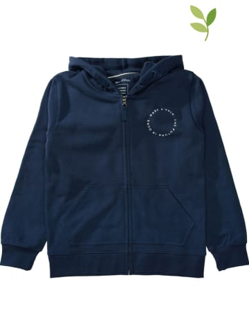 Marc O'Polo Junior Sweatvest donkerblauw